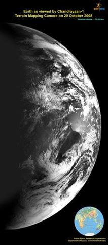 Chandrayan - 1'den Dünya