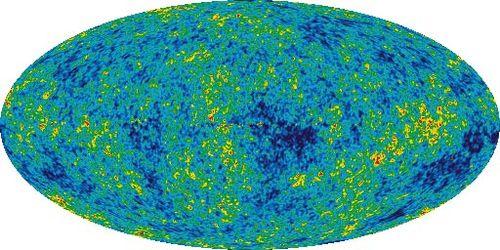 Mikrodalga boyunda Gökyüzü Haritası